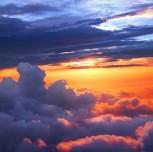 טיסה רומנטית בשקיעה ובשעות הלילה