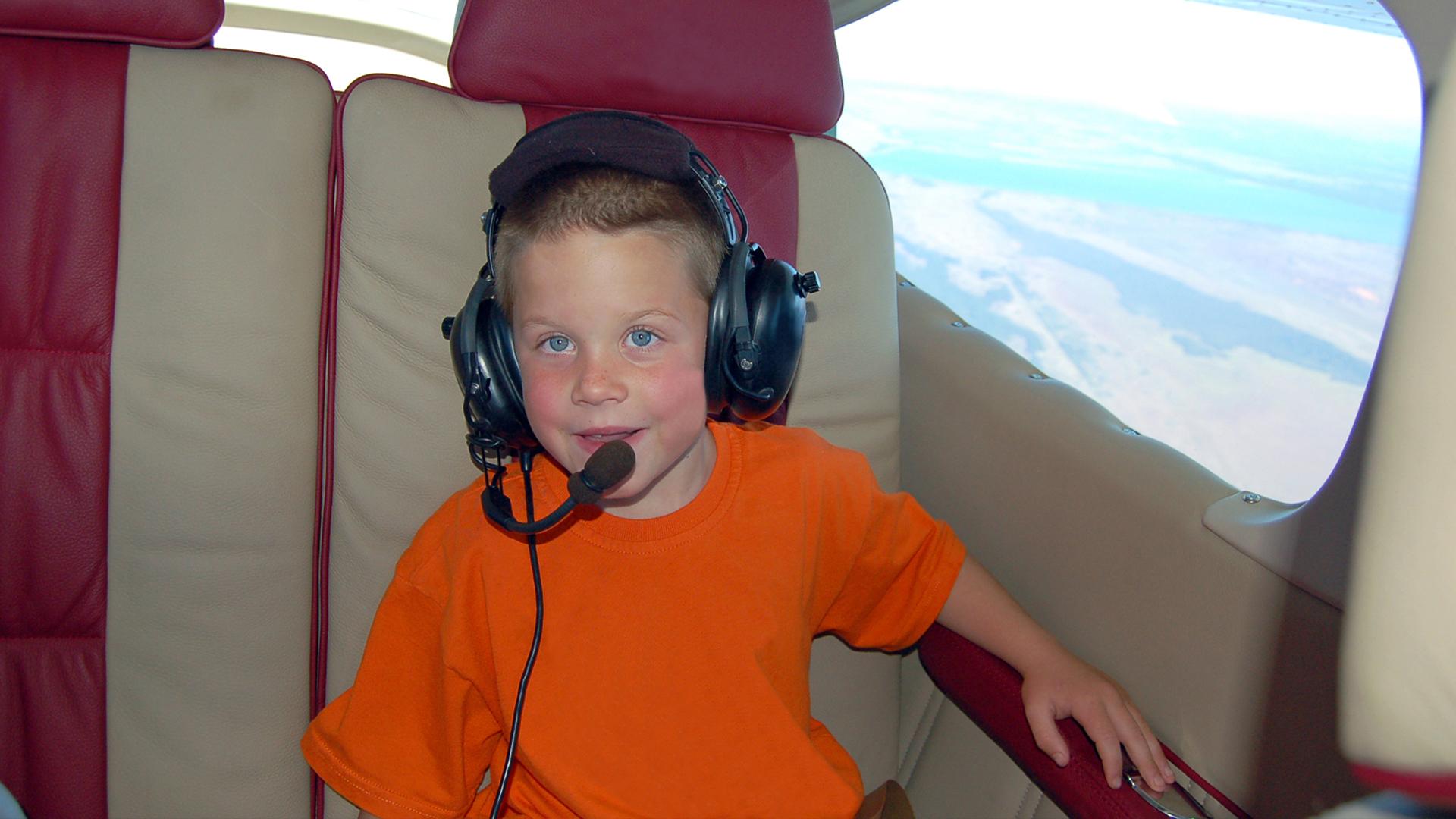 טיסה מעל שמי הארץ לילדים