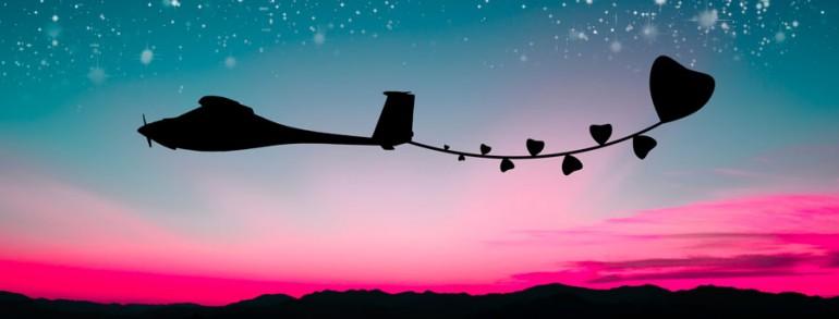 טיסה רומנטית